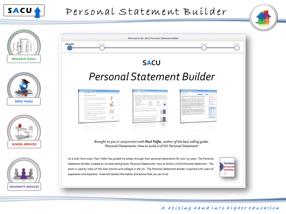 personal statement builder