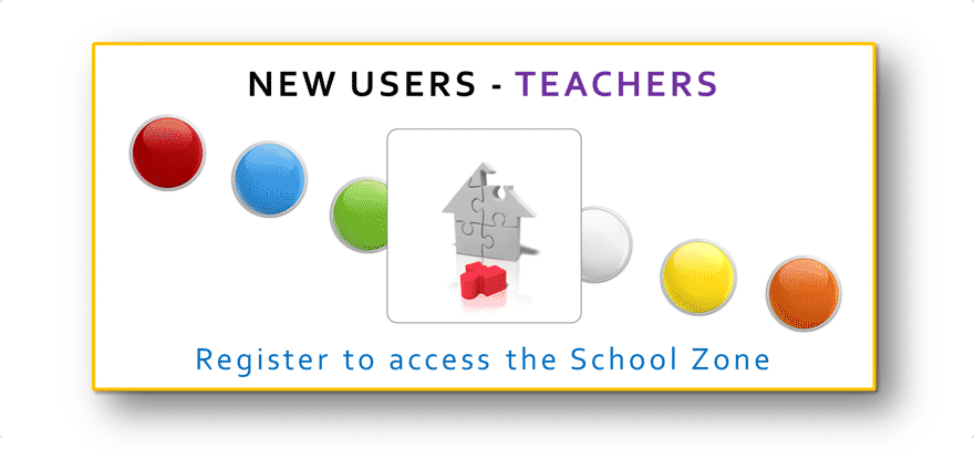 New Teacher - register here to access the School Zone